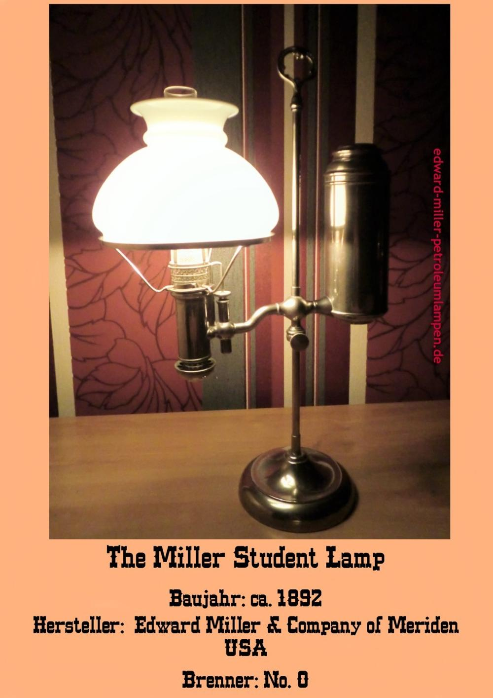 The Miller Student Lamp