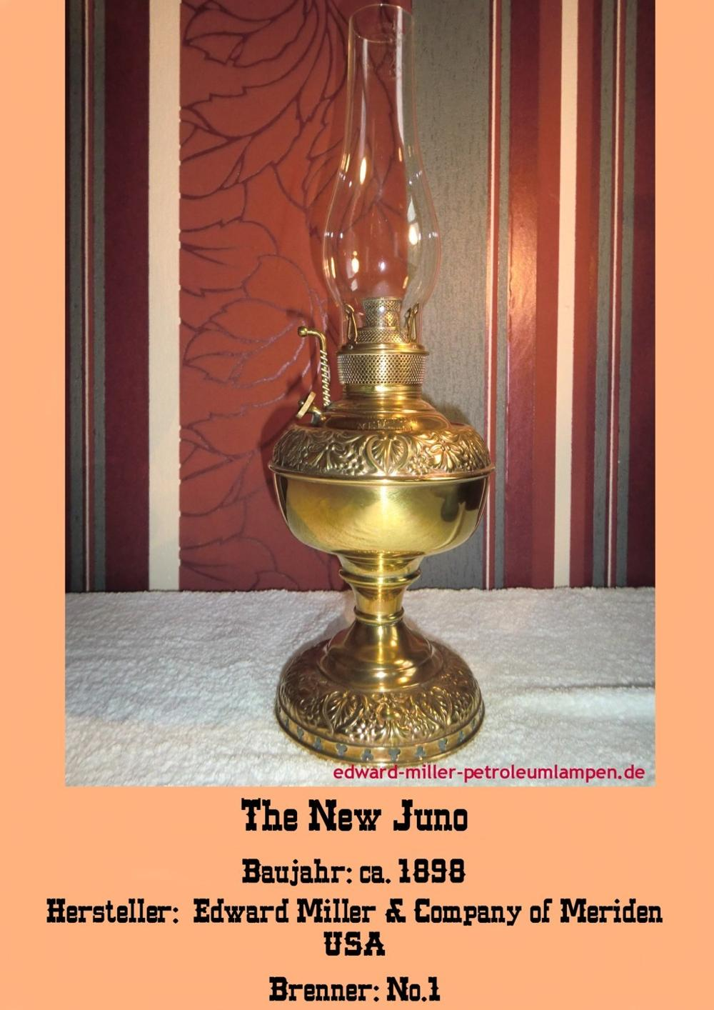 The New Juno Lamp No. 1